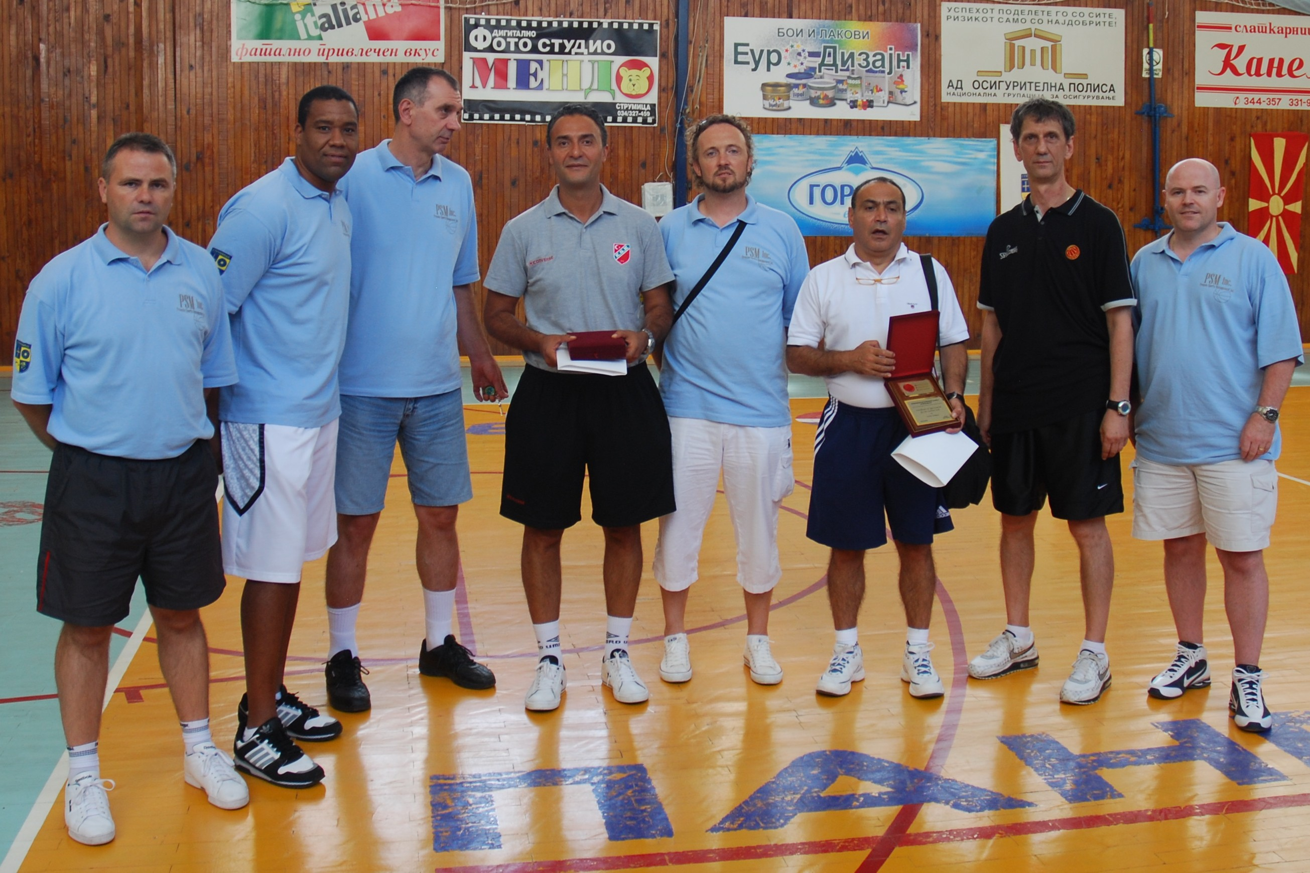 2010 Europe Summer League Coaches