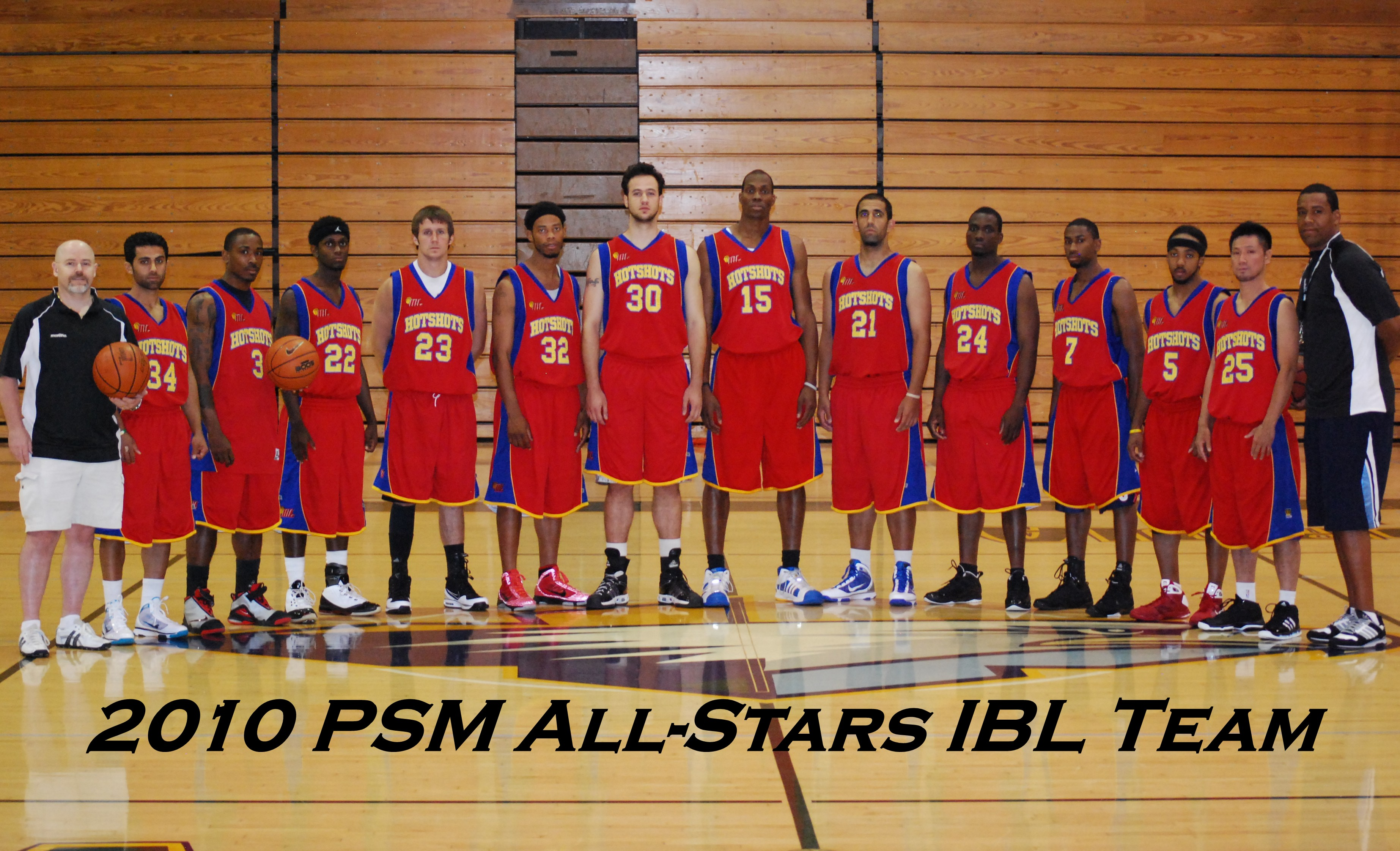 2nd Annual 2010 Europe Summer League IBL Team