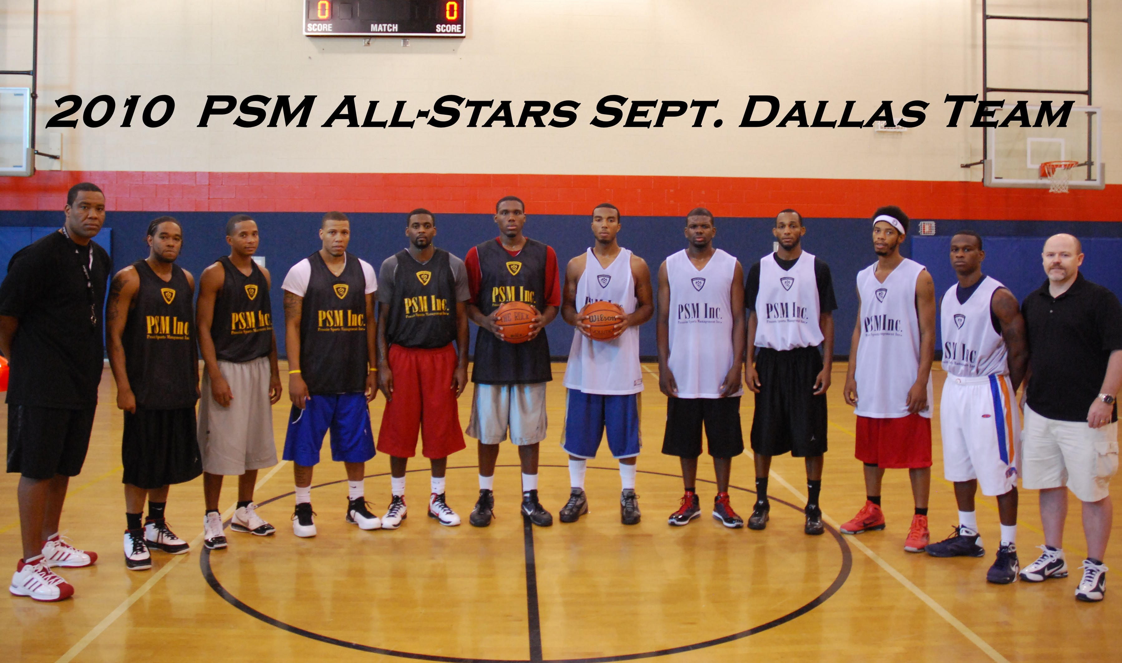 2nd Annual 2010 Europe Summer League - Dallas #1