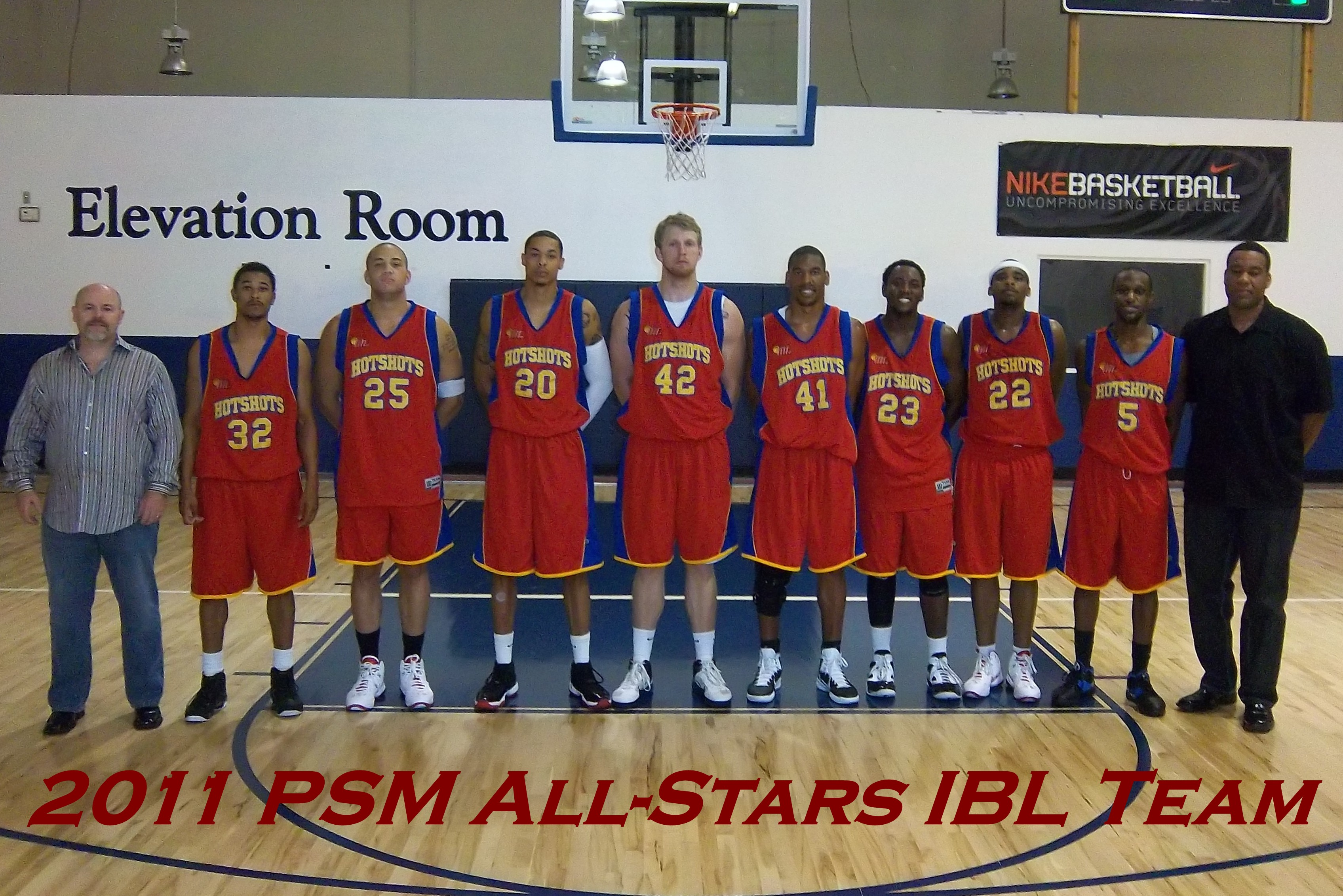 2011 Europe Summer League IBL Team