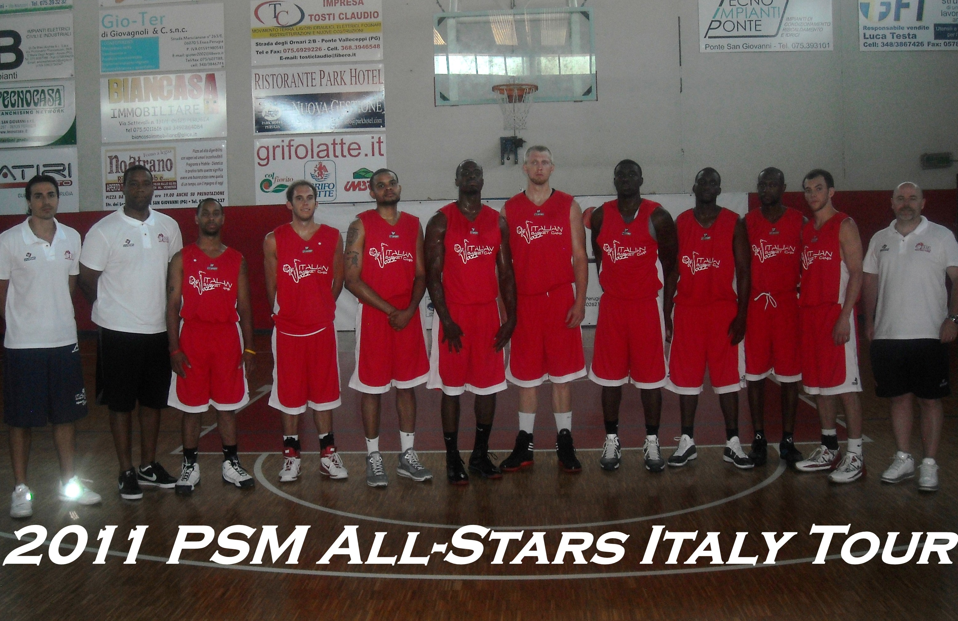 3rd Annual Europe Summer League Italy Tour Team