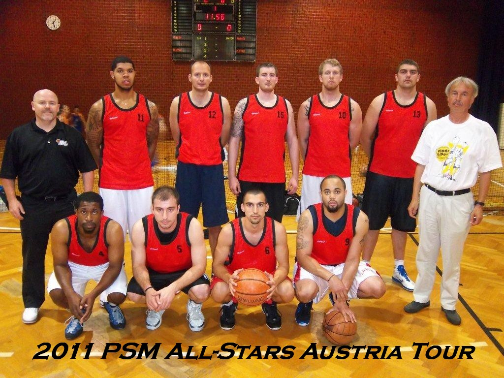 3rd Annual 2011 Europe Summer League Austria Tour Team