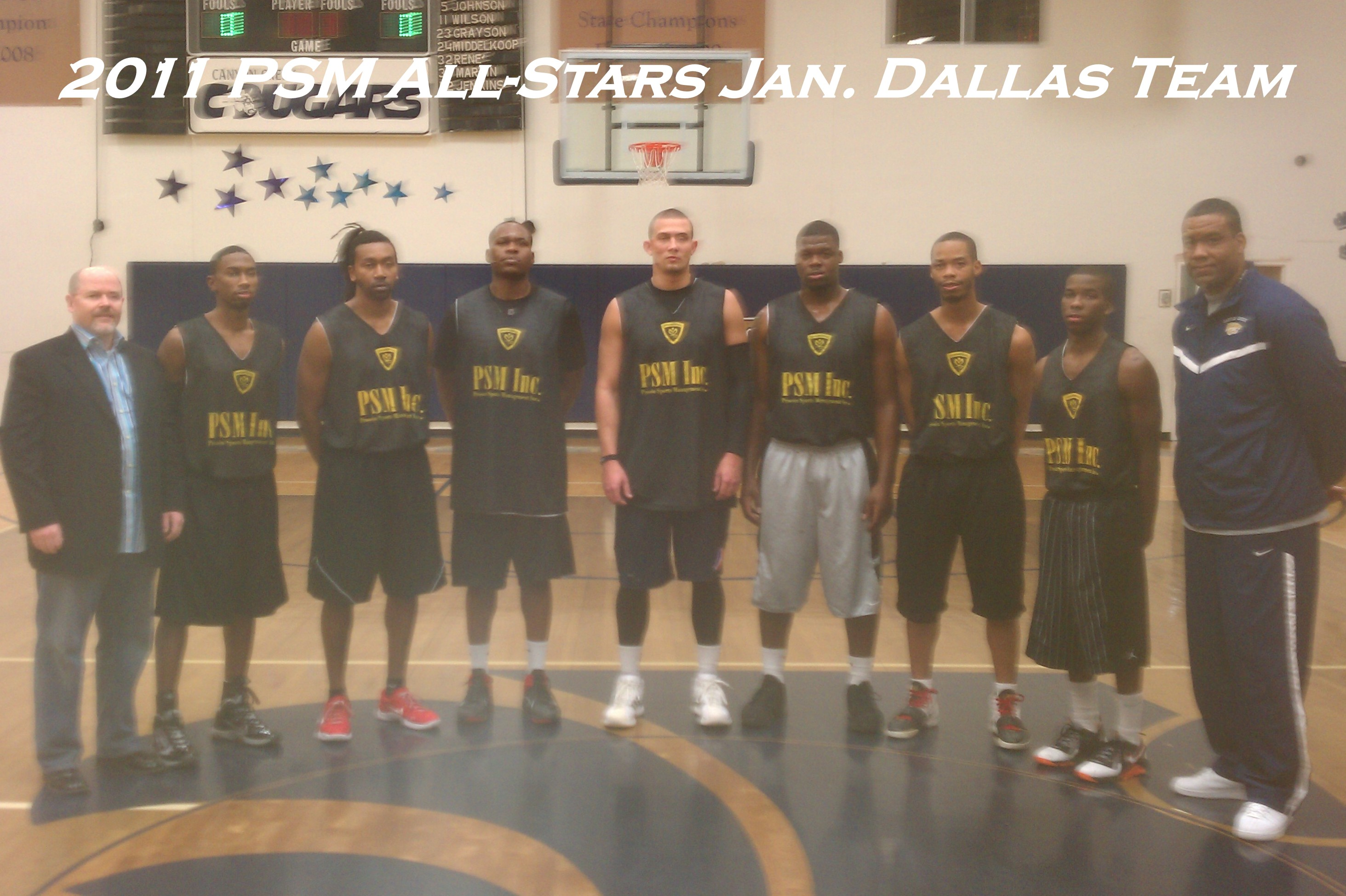 2011 Europe Summer League Jan Dallas Team