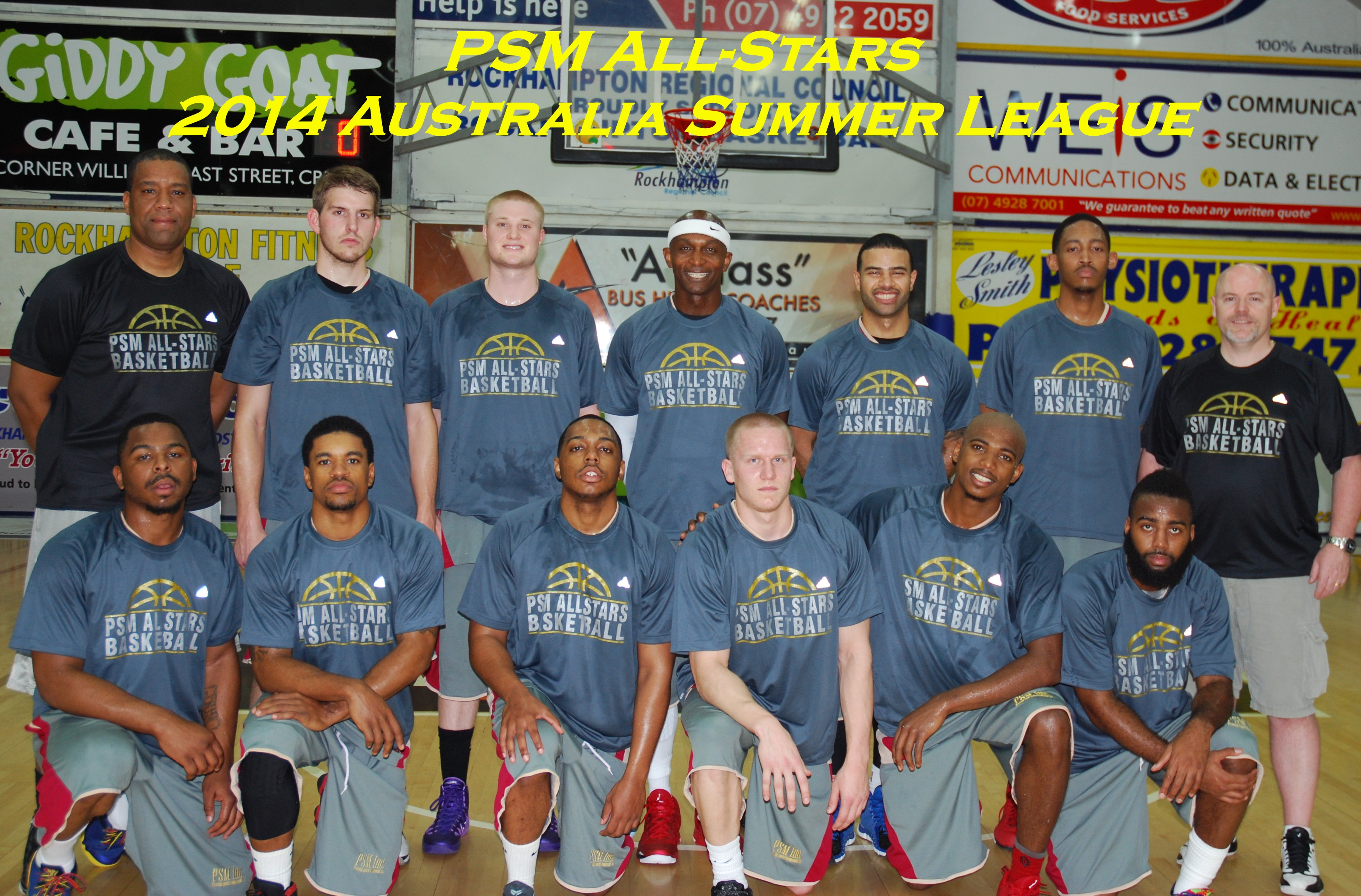 2014 Australia Summer League PSM All-Stars Team