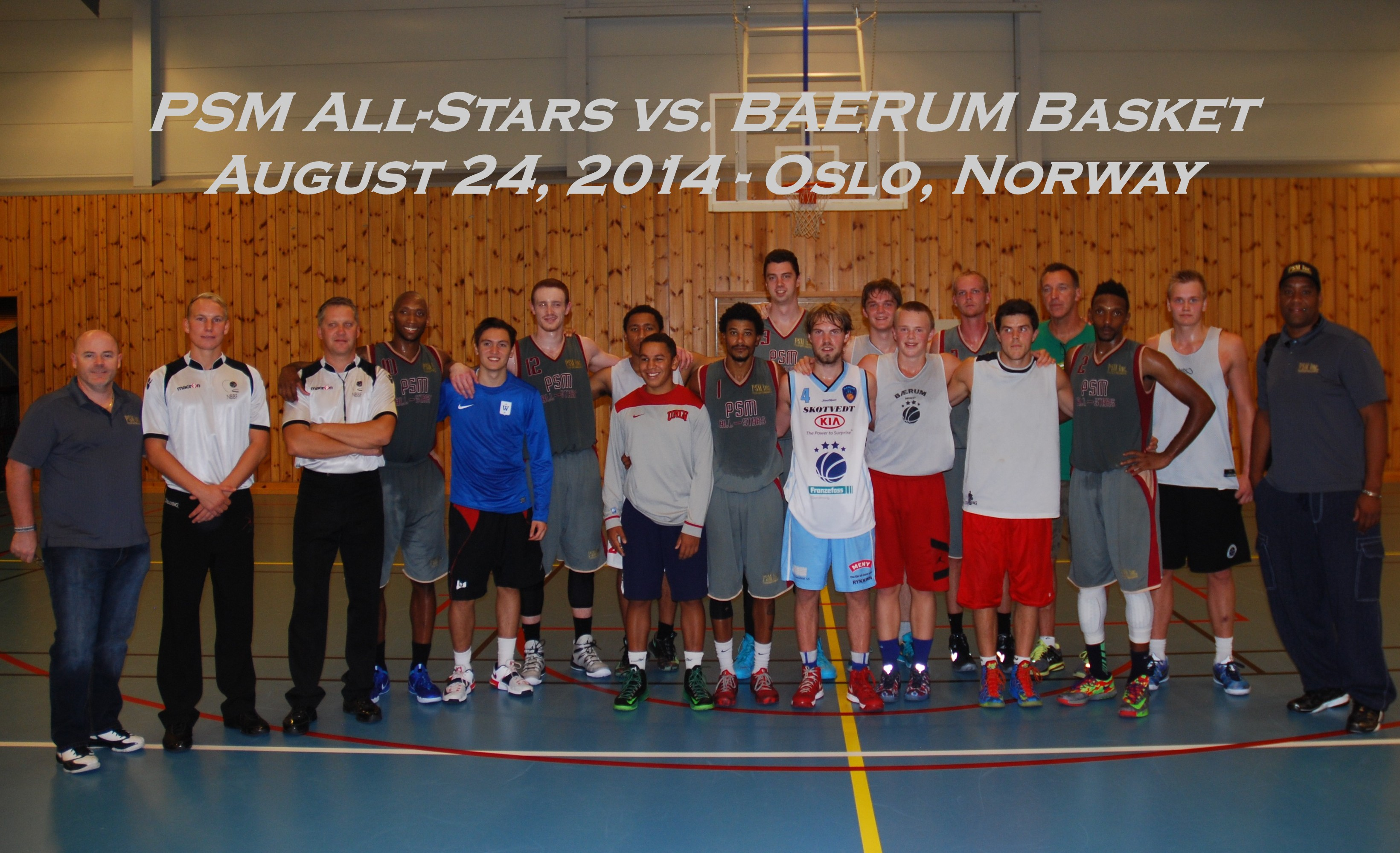 PSM All-Stars vs Baerum Basket
