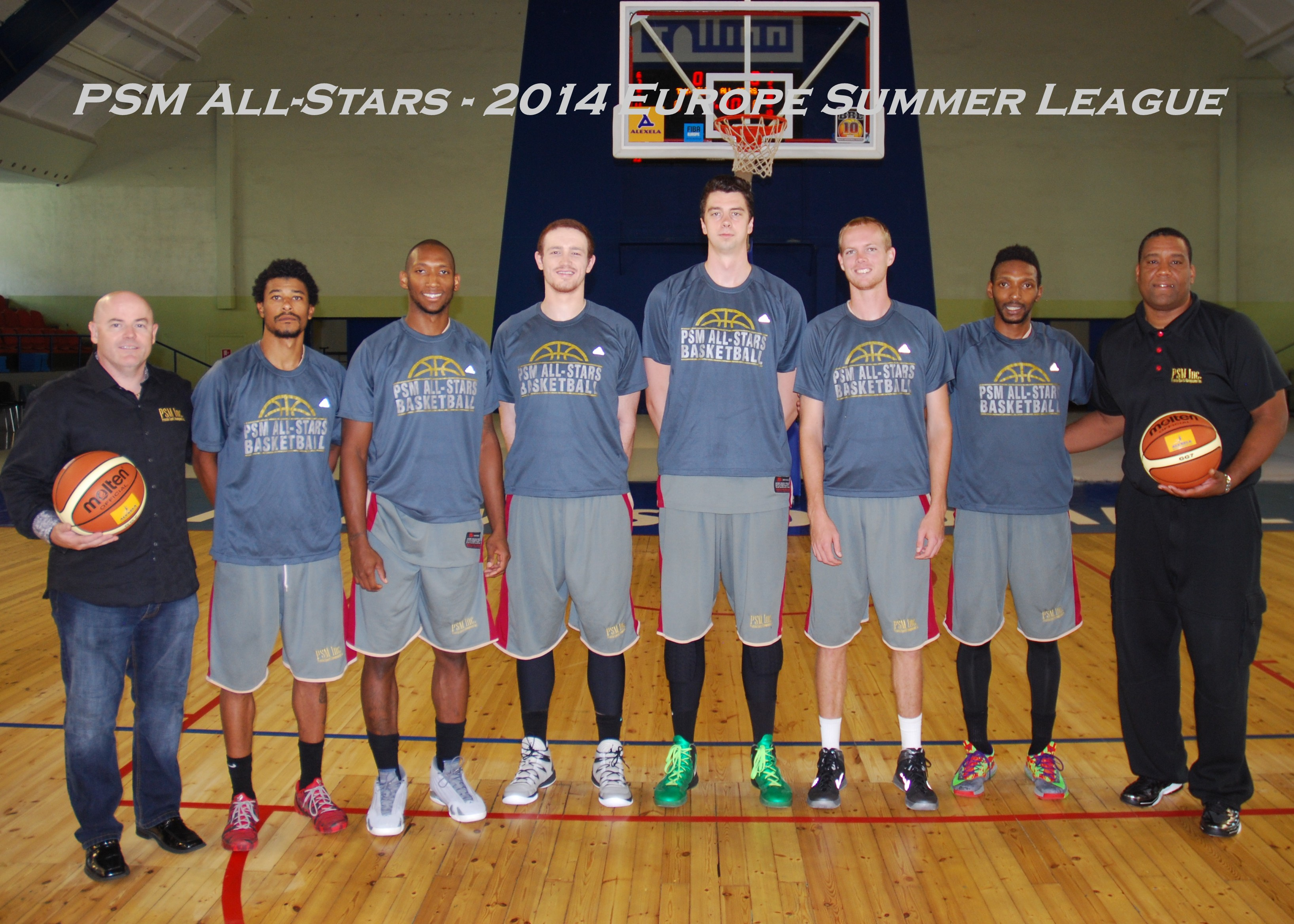 2014 Europe Summer League PSM All-Stars