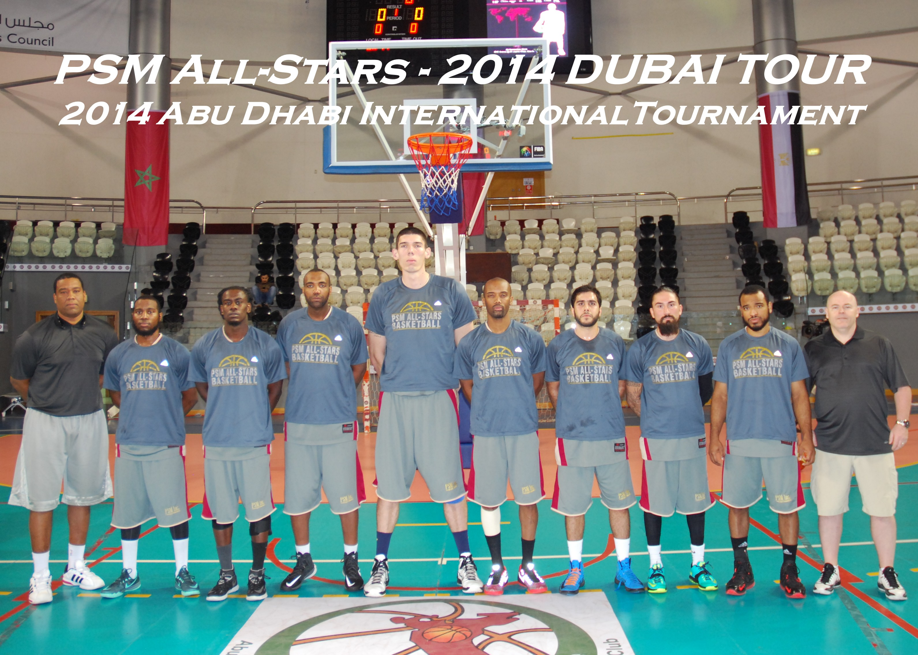 2014 Europe Summer League DUBAI Tour Team